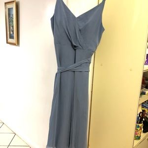 After Six Blue Maxi Dress Gown Women's Size 16